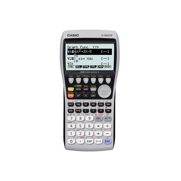 Casio fx-9860gii calculadora gráfica