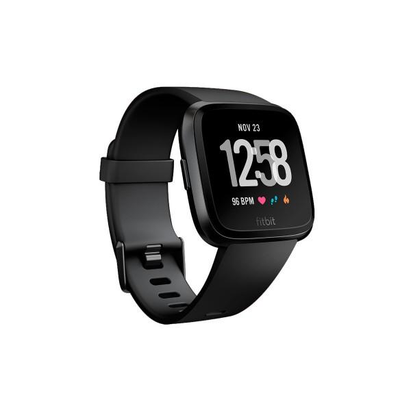 Fitbit fb505gmbk versa smartwatch deportivo negro