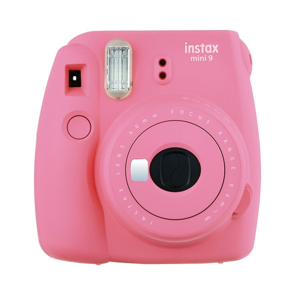 Fujifilm instax mini 9 rosa cámara instantánea con flash