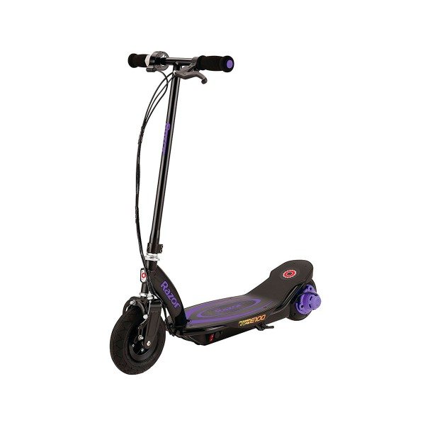 Razor power core e100 lila scooter eléctrico 18 km/h