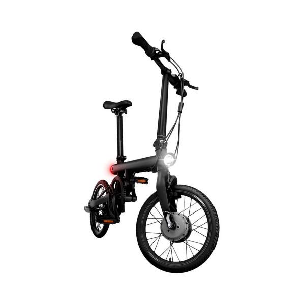 Xiaomi qicycle aluminio negro bicicleta eléctrica plegable 45km autonomía pantalla de 1.8'' alta calidad