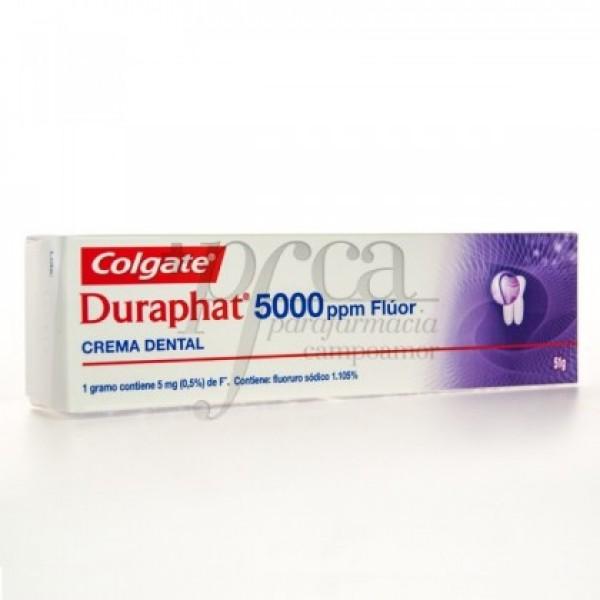 DURAPHAT CREMA DENTAL 5000 PPM FLUOR 51G