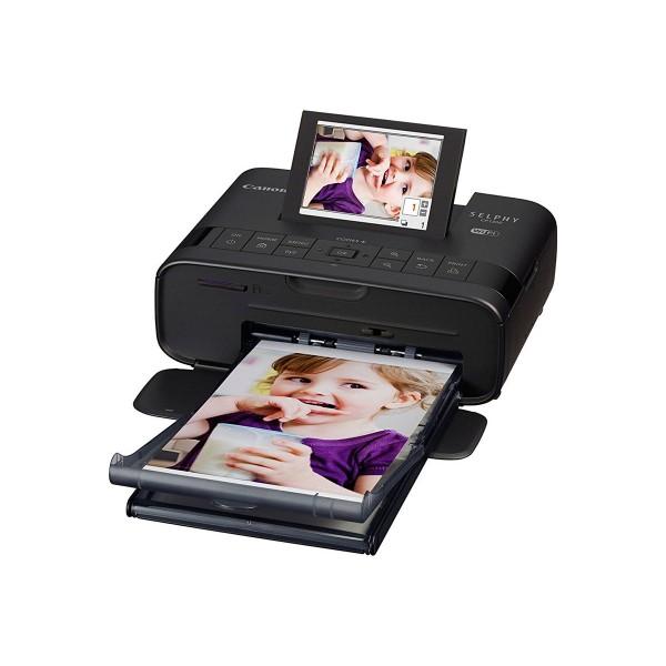 Canon selphy cp1300 negro impresora fotográfica wifi gran pantalla abatible impresión directa desde usb