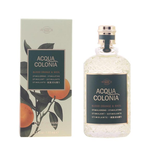 4711 acqua colonia eau de cologne blood orange & basil 170ml vaporizador