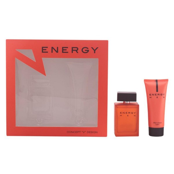 Energy men eau de toilette 100ml vaporizador + after shave 100ml