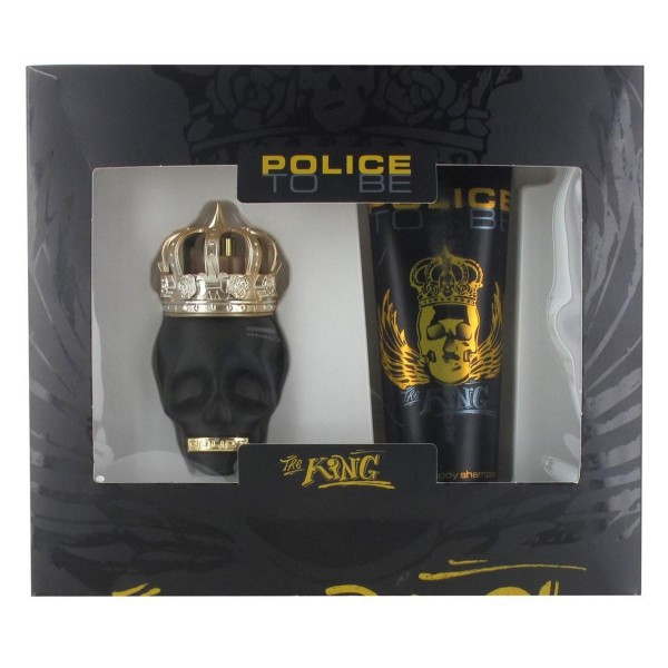Police to be the king eau de toilette 40ml vaporizador + gel de ducha 100ml