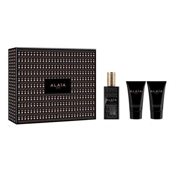 Alaia alaia paris eau de parfum 50ml vaporizador + leche corporal 50ml + gel de baño 50ml