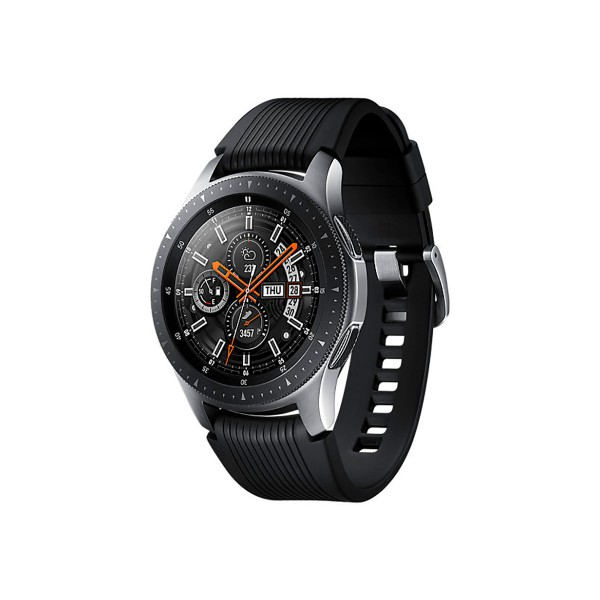 Samsung fitness sm-r800 galaxy watch 46mm plata reloj smartwatch pantalla samoled gps bluetooth