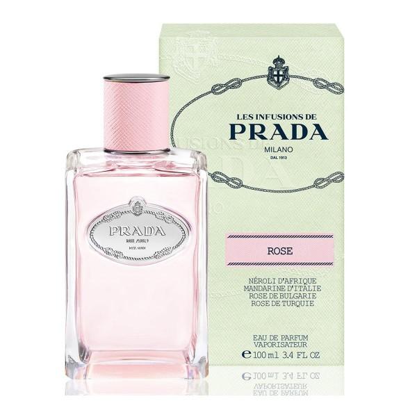 Prada infusion de rose eau de parfum 100ml vaporizador