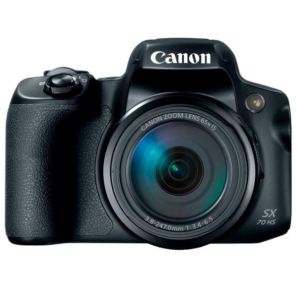 Canon powershot sx70hs negro cámara de fotos digital 20.3mp uhd zoom óptico 65x wifi