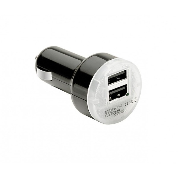 "Cargador doble USB de 2.1mA ""PULSE MOBILE PRO"" para  tablets y Smartphones"