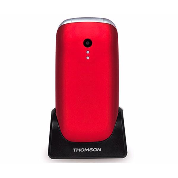 Thomson serea 63 rojo móvil senior plegable 2.4'' tft bluetooth cámara vga radio fm