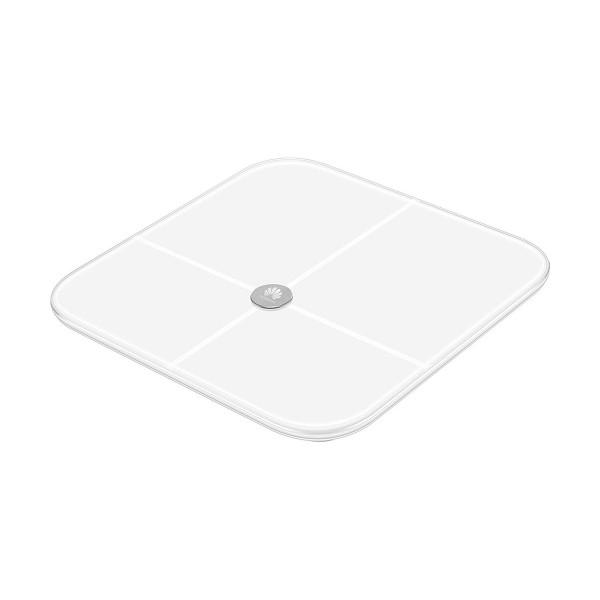 Huawei báscula inteligente blanco body fat scale diseño minimalista conectividad bluetooth