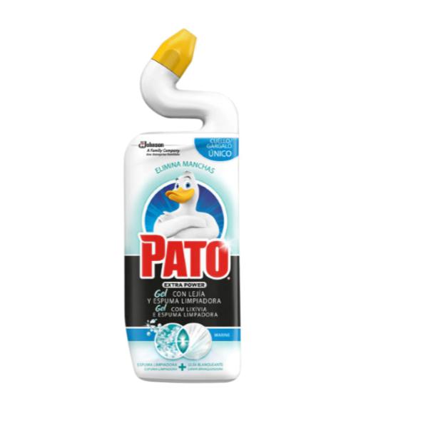 Pato WC gel con lejía y espuma limpiadora Marine 750 ml