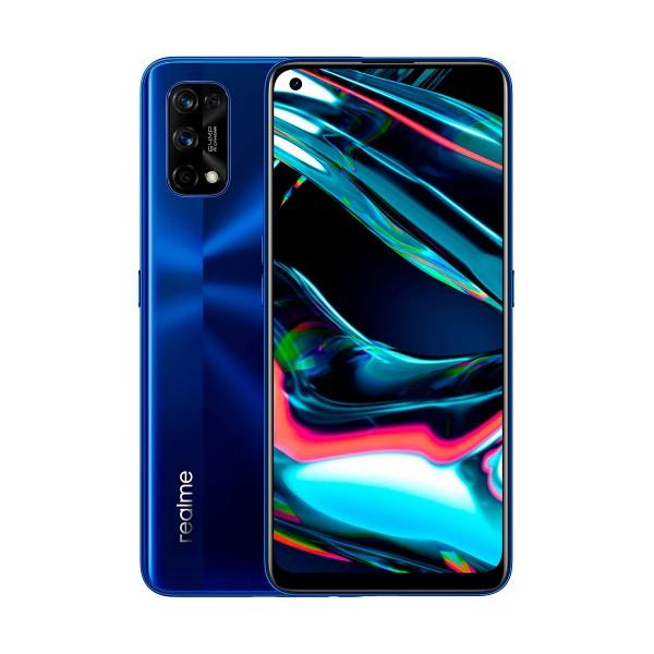 Realme 7 pro azul móvil 4g dual sim 6.4'' fullhd+ octacore 128gb 8gb ram quadcam 64mp selfies 32mp