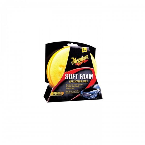 Meguiar's Esponja aplicadora Pack x2 SOFT FOAM PAD