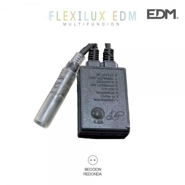 Programador tubo flexilux 2 vias 10,5m (ip44 interior-exterior) edm